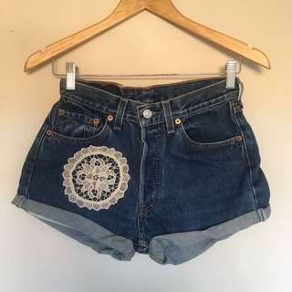 Vintage Altered Levis Shorts