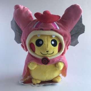 🆕Pokémon Plush - Pikachu Cosplay - Red Gyarados