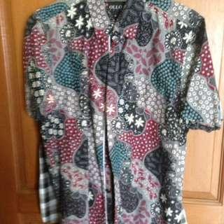 Batik Lengan Pendek Manzone