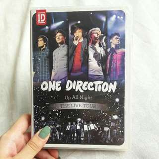 ONE DIRECTION UP ALL NIGHT TOUR DVD