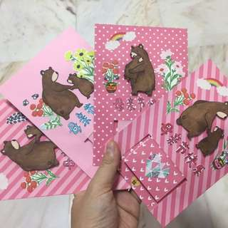 Waterfall Card : Beary Happy Mothers Day