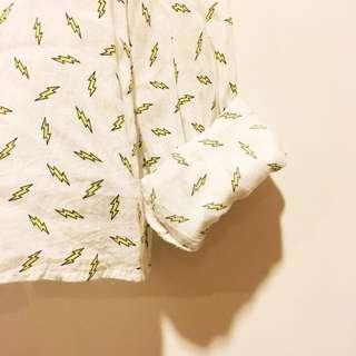 H&M 閃電襯衫 夏日適合