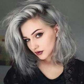 Silver Ash Hair Dye Set
