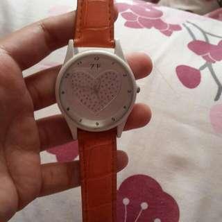 Jam Tangan Wanita Orange