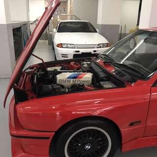 E30 M3 , R32 GTR , EVO 6.5 TM