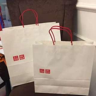 UNIQLO paperbag (Mulusss)