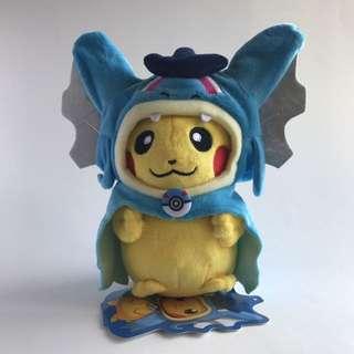 🆕Pokémon Plush - Pikachu Cosplay - Gyarados