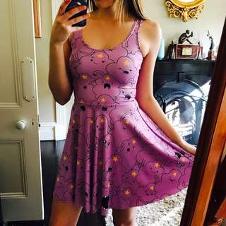 Black Milk Lumpy Space Princess Reversible Skater Dress