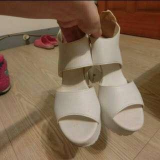 韓版 厚底 高跟鞋 涼鞋