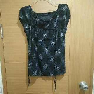 Sabrina Shirt Black