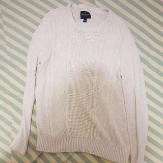 American Eagle Outfitters White Sweater