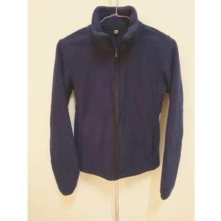 UNIQLO 深藍 刷毛 外套#舊愛換新歡