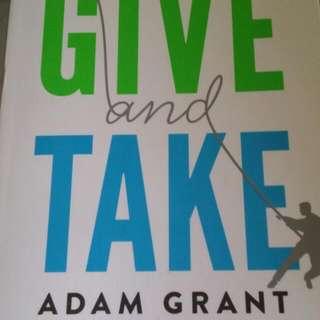 A new Copy of Give and Take By Adam Grant