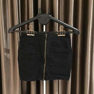 Supre short skirt with zip