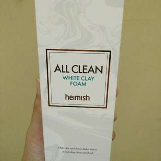 BRAND NEW HEIMISH ALL CLEAN WHITE CLAY FOAM