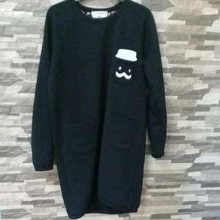 Korean Longsleeve Dress