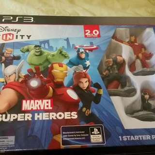 Avengers Disney Infinity Thingy For Ps3.
