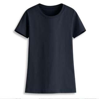 藏青色素t#轉轉來交換#一百元上衣#百元全新女裝
