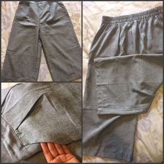 Stretchable Grey Pants
