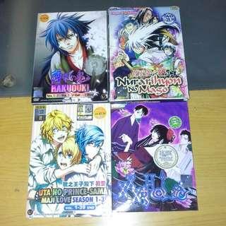 Preloved Anime DVD