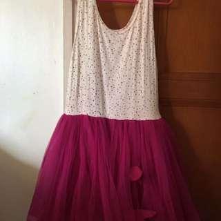 Tarte Tatin Polka Dot Tulle Dress