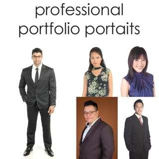 Professional Portfolio Portraits