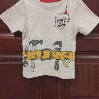 Preloved Mothercare Tshirt Sz 9-12