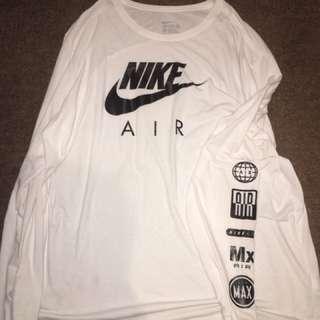 Rare Nike Air Long Sleeve Shirt