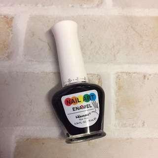 🚚 極細黑色指甲油💅