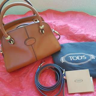 Authentic TOD'S sella Bauletto Mini