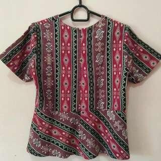 Berry Batik Shirt