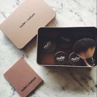 Nude By Nature Box Of Powder Makeup!
