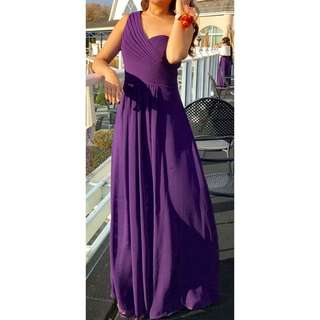 Purple Prom Dress 💜