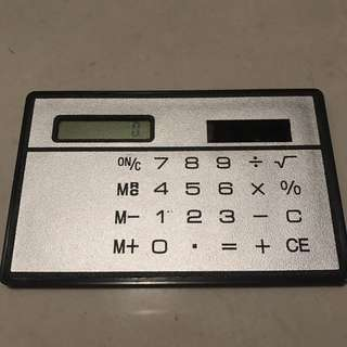 Mini Solar ☀️ Powered Calculator