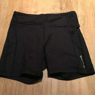Funkita Booty Shorts Black Running / Bike Shorts