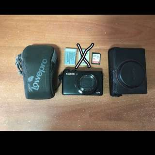 SOLD Canon G7X Mk 1 W Accessories