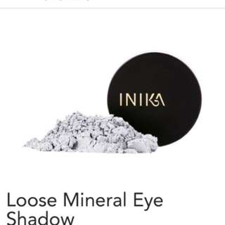 Inika Mineral Eye shadows Blue Steel And Platinum