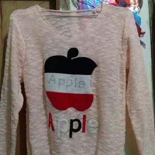 #Jatuh harga Rajut Peach Apple 😍