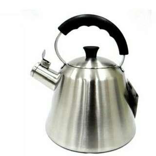 🚚 SODAMAIN 仙德曼 304 不鏽鋼 笛音 茶壺 2.5L SS253 茶壺 開水壼 冷水壼