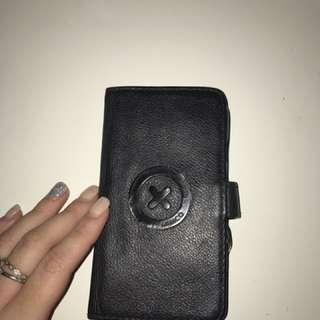 Black On Black Mimco Phone Case
