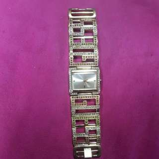 Used Gold Guess Watch