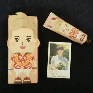 NATURE REPUBLIC HANDCREAM EXO (Suho)