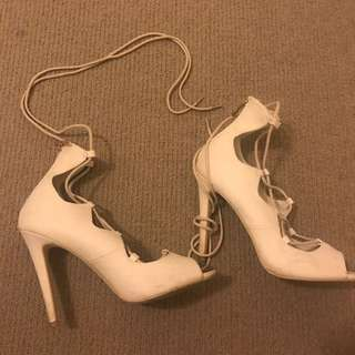 7 Betts Lace Up Heels