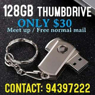 128gb Thumbdrive selling for $30