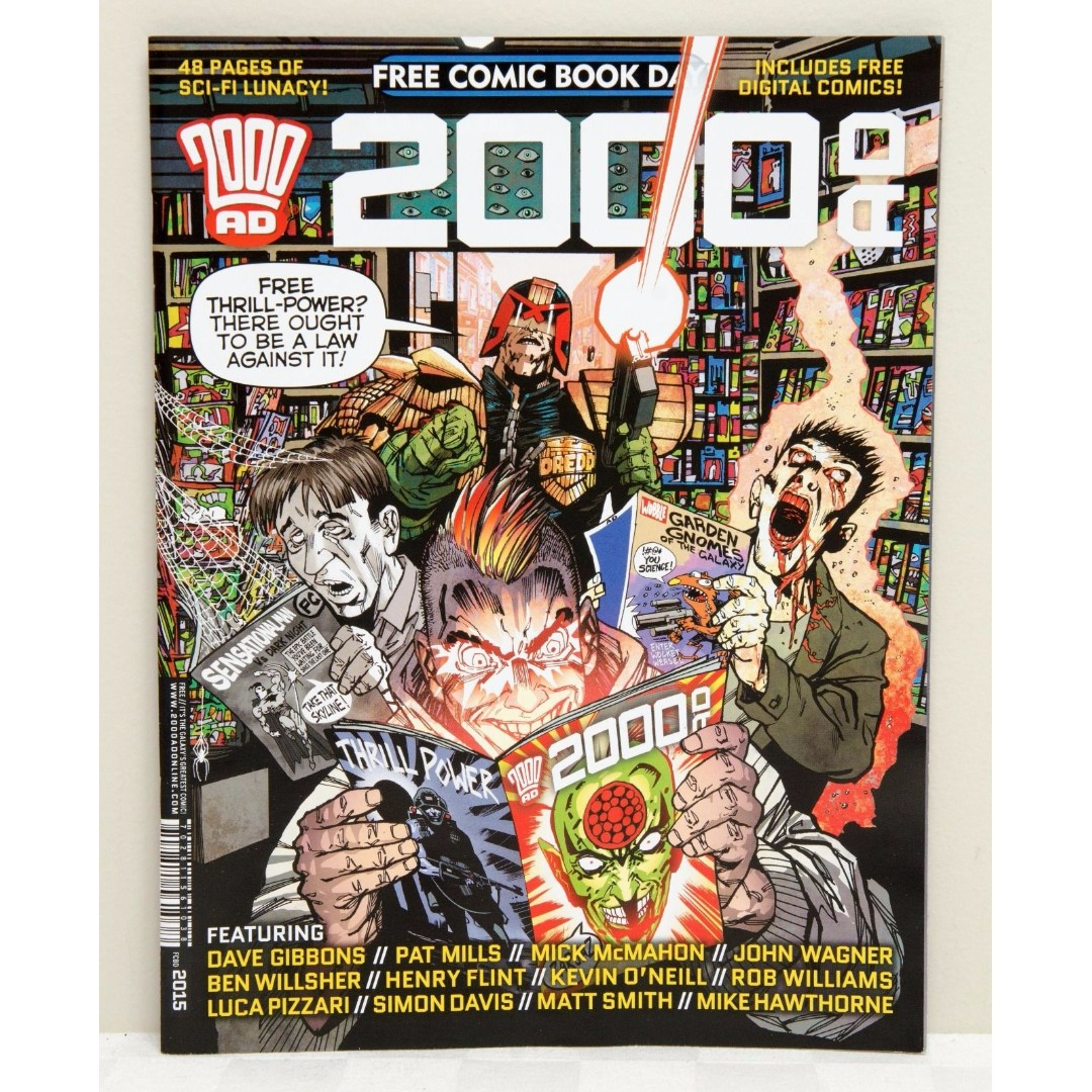 2000AD - Free Comic Book Day 2015