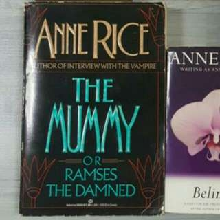Various Pre-loved Books By Anne Rice.