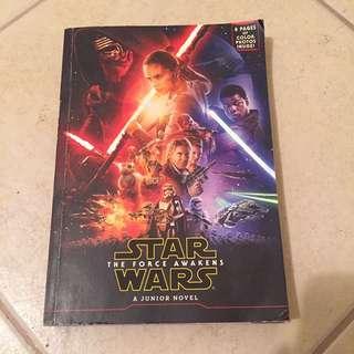 Star wars - The Force Awaken Junior novel