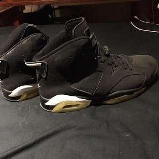 Jordan 6 Black/white Replicas