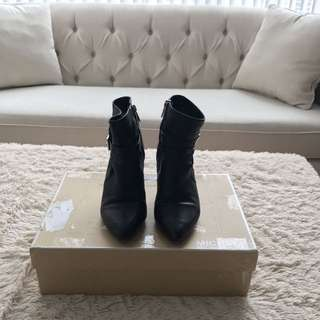 Black Michael Kors Booties Size 6