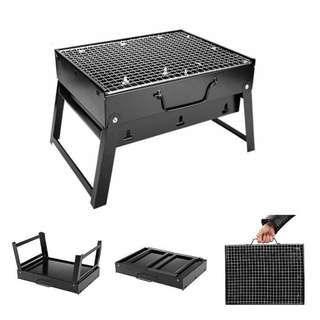 PORTABLE BBQ GRILL CHARCOAL BARBECUE PIT - ZADA COOKWARE